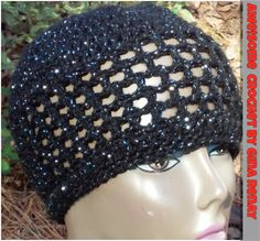 ~ #CROCHET 1 HAT DAILY! ** ~ Day 365 ** AWE!Some Crochet by Gina Renay ImaGINAtions To purchase, send inquiry to ginarenay@yahoo.com