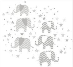 WallPOPs Elephants