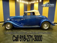 1934 Ford Cabriolet   - Stock #5426-STL