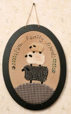 Sheep - Faith, Family, Friends
