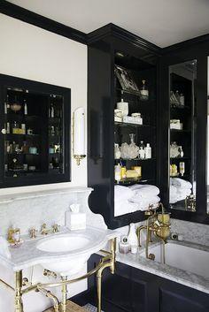 brass in bath by simply seleta, via Flickr