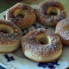 Krumpli strudli | Nosalty Churros, Bagel, Doughnut, Desserts, Recipes, Food, Tailgate Desserts, Deserts, Recipies