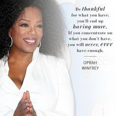 A glimpse into her 20s. Career advice from Oprah Winfrey herself.