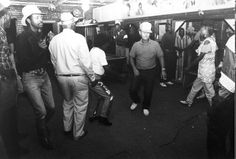 Flem Snopes, at center right wearing cap,  at the late, great Junior Kimbrough's Juke Joint  on a Saturday night in 1994