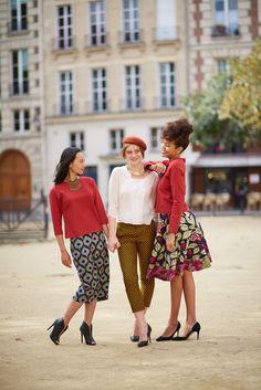 Wax Touch Collection Maison Mixmelô FW 18 #fashion #frenchstyle #waxprint #womensfashion #mixandmatch #slowfashion #ethicalfashion #africanfashion Sequin Skirt, Wax, Sequins, Touch, Collection, Skirts, Vintage, Style, Fashion