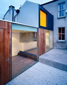 Extension - Sharpness of finishing/aesthetic that I like. ODOS Architects, Ireland