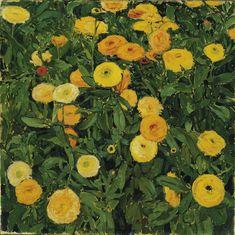 "amare-habeo: ""Koloman Moser(Austrian, 868 – 1918) Marigolds, 1909 """