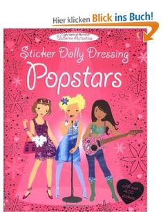 Pop Stars (Usborne Sticker Dolly Dressing): Amazon.de: Stella Baggot: Englische Bücher