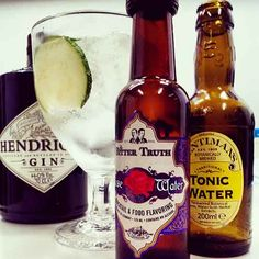 Gintonic Hendrick's, Fentimans y TBT Rose Water