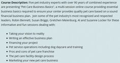 Pet Care Business Basics legit, Pet Care Business Basics Review, Pet Care Business Basics Scam - http://legitbonusreviews.com/pet-care-business-basics-review-by-robin-bennett-is-petcarebusinessbasics-scam/  - Animal Care & Pets, Home & Garden