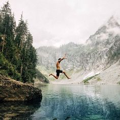 Where's your favorite water hole? // : tyehaus // Mountain Lakes, Travel and Adventure Adventure Awaits, Adventure Travel, Adventure Photos, Oh The Places You'll Go, Places To Visit, Trekking, Wanderlust, Kayak, Nature Photography