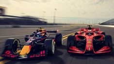Formula One reveals striking first images of 2021 concept cars for new era Formula 1 Autos, Formula 1 Car, Toyota Verso, Track Meet, Ground Effects, Ferrari F1, Red Bull Racing, Car Buyer, Wrestling