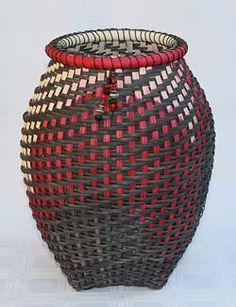 Olympia, woven basket by Linda Scherz Allen