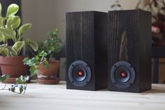 You can place these speakers on their head, bottom, or side, whatever you like best for your space!