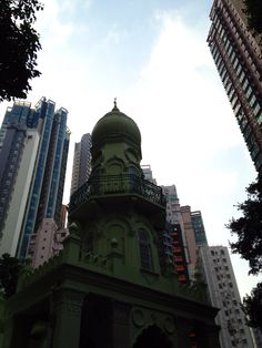 Central-Mid-Levels-Mosque, HK.