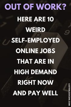 12 Best self employed jobs with high demand that pay well - Luster Lexicon Work From Home Companies, Online Jobs From Home, Work From Home Opportunities, Online Work, Uk Online, Legit Work From Home, Work From Home Jobs, Earn Money From Home, Way To Make Money