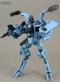 Whirl - custom Transformer