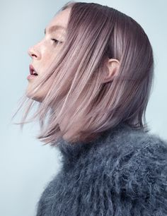 Pale Pink Beauty Photograph by Benjamin Lennox; styled by Andreas Kokkino and Katie Becker; W magazine August 2014.