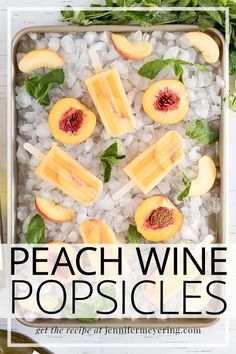 Try this fun twist on your traditional sangria or wine cocktail by freezing it into popsicles!