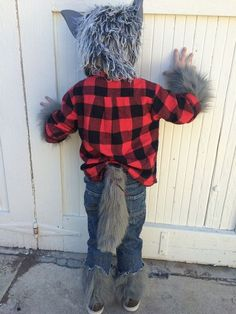 Werewolf Costume with Simple Animatronic Wagging Tail by melarky