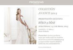Avance Pronovias 2014 | Sí, quiero por Sandra Llopis