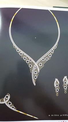 . Lace Jewelry, Gems Jewelry, Pendant Jewelry, Wedding Jewelry, Jewelry Sets, Jewelery, Jewellery Sketches, Jewelry Drawing, Jewelry Illustration