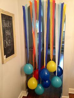 First birthday surprise!