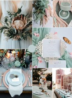 7 Amazing Summer Wedding Color Combos for a Memorable Big Day spring + summer sage green + dusty pink wedding colors Maroon Wedding, Green Wedding, Spring Wedding, Dusty Pink Weddings, Simple Weddings, Black Weddings, Vintage Weddings, Wedding Vintage, Pink Wedding Colors