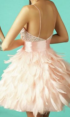 Never went to a school dance and never will be able to. But goodness I'd give anything for a chance to wear something like this.