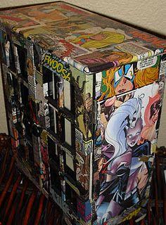 Comic book jewelry box