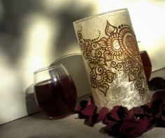 Facebook 1500 Fan Giveaway: Win a Henna Candle!