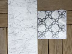 The Carrara white marble tile collection at TileBuys features field tile, trim and mosaic tiles in Italian white marble with random grey veining. Luxury waterjet mosaic tiles in Carrara marble includes Petal Blossoms - our bestselling flower pattern mosaic, crafted out of Carrara White & Bardiglio Grey marbles. Field Tile Sizes: 3x6 | 3x9 | 3x12 | 4x12 | 6x12 | 12x12 | 12x24 | 18x18