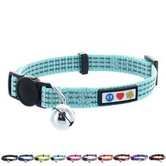 Pawtitas Pet Reflective Cat Collar with Safety Buckle and Bell >>> Details can be found by clicking on the image. (This is an affiliate link and I receive a commission for the sales)