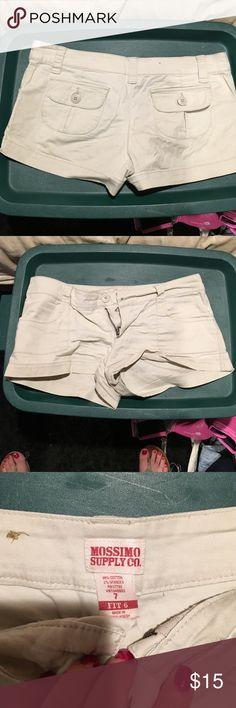 Juniors shorts Tan juniors shorts. Mossimo Supply Co Shorts Jean Shorts