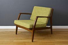 Danish Modern Lounge Chair by Ib Kofod Larsen