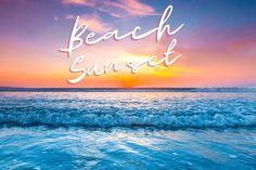 Beautiful beach sunset! #NorthMyrtleBeach #MyrtleBeach Beautiful Beach Sunset, Beautiful Beaches, North Myrtle Beach, Neon Signs