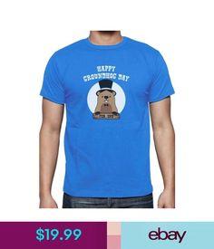 T-Shirts Happy Groundhog Day - Groundhog Day T-Shirt Gift Idea #ebay #Fashion