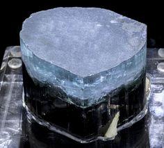 Large Blue Cap Indicolite Tourmaline