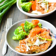 Baked Salmon with Oyster Sauce