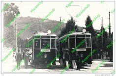 Piran-Portoroz-Pirano-Portorose-tram 2 E 3 - Lot Of People.Istria-Istra-1920 - Slovenia