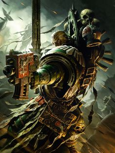 Imperium of Man - art-of-40k: Last one of the year. Why yes, I am...