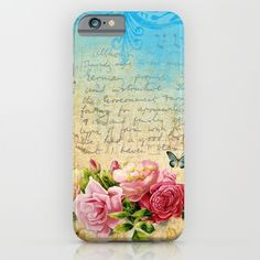 #vintage #roses #cases Available too in different #homedecor #bedroom products