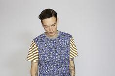 Marni Menswear SS13 Print & Stripes