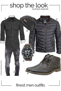 107597fba36d Moderner Look für Herren mit Teilen von Fossil, Bugatti, Blend, urban air  und