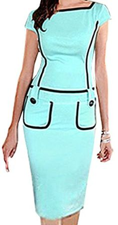 FsJoy Women's Sexy Pencil Business Work Button Dress FsJoy http://smile.amazon.com/dp/B00VM2QL8A/ref=cm_sw_r_pi_dp_ftCGvb1NS72M8