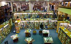 Blackwell's books, Oxford.
