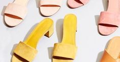 9 Colorful Sandals for Summer via @WhoWhatWearUK
