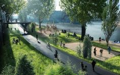 After reclaiming Left Bank from motorists, Paris' Socialist mayor Anne Hidalgo says chunk of highway along river Seine's Right Bank will be pedestianised by the summer of 2016