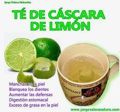 ConsejosdeSalud.info: Beneficios del té de cáscara de limón, que desconocía y que te sorprenderán