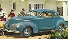 1940 Studebaker State Commander Two Door Club Sedan